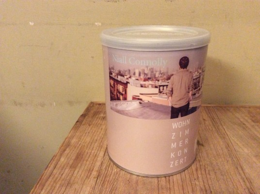 Custom tip Jar at Bremen House Concert