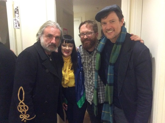 With Kieran Kennedy, Bronagh Gallagher, and Steve Wall