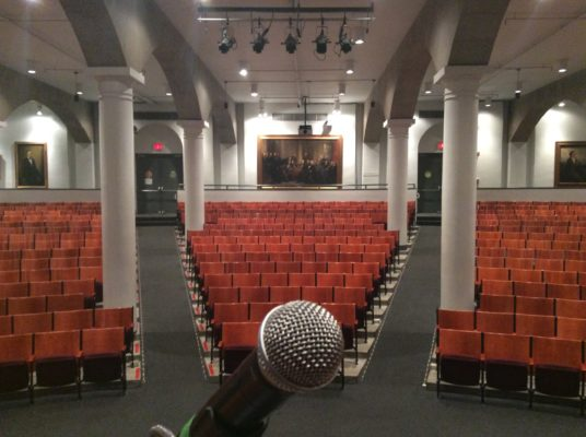 The Stage at the Cooper Union.