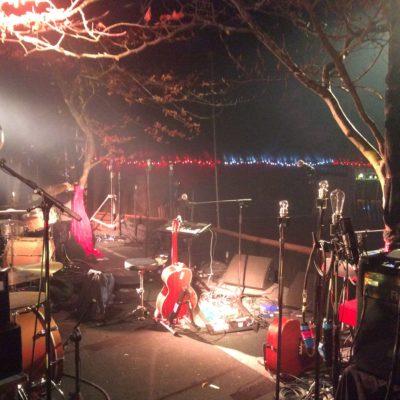 Vantastival Stage at Soundcheck