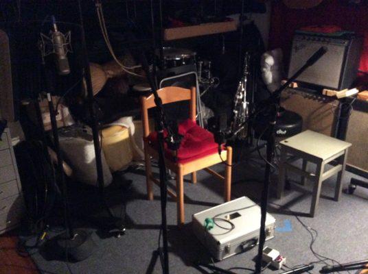 The hot seat at studio 76.
